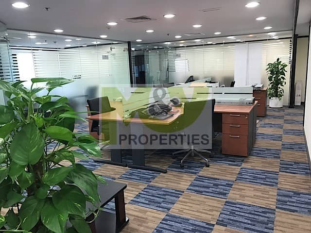 Fully furnished high floor office next to Metro station