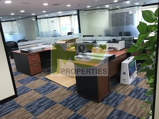 2 Fully furnished high floor office next to Metro station