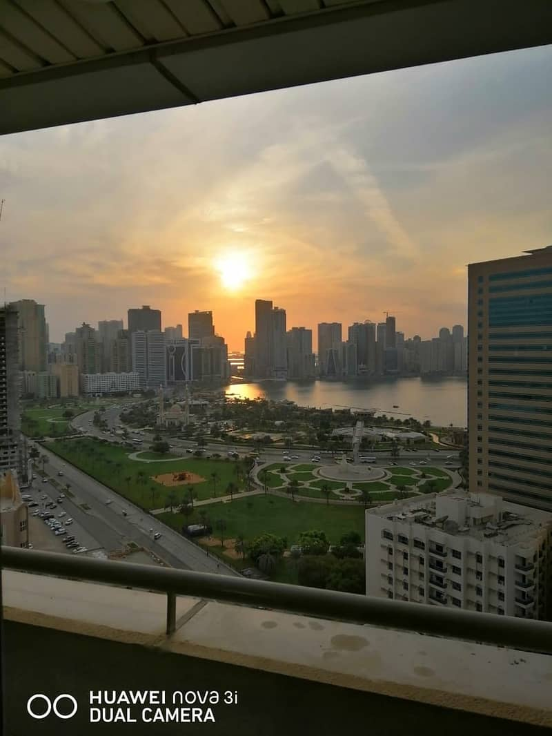2 Large 3 bedroom apartment with amazing views for sale in Al Mamzar Sharjah
