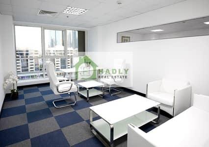 مکتب  للايجار في شارع الشيخ زايد، دبي - Bright Fitted Office Space For Rent
