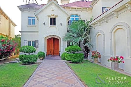 4 Bedroom Villa for Rent in Jumeirah Islands, Dubai - Garden Hall | Well Maintained | Four Beds