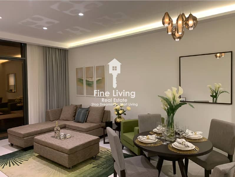 15 Ready to move-in! Fully Furnished 1BR - 2BR Apartments Starting from AED 549