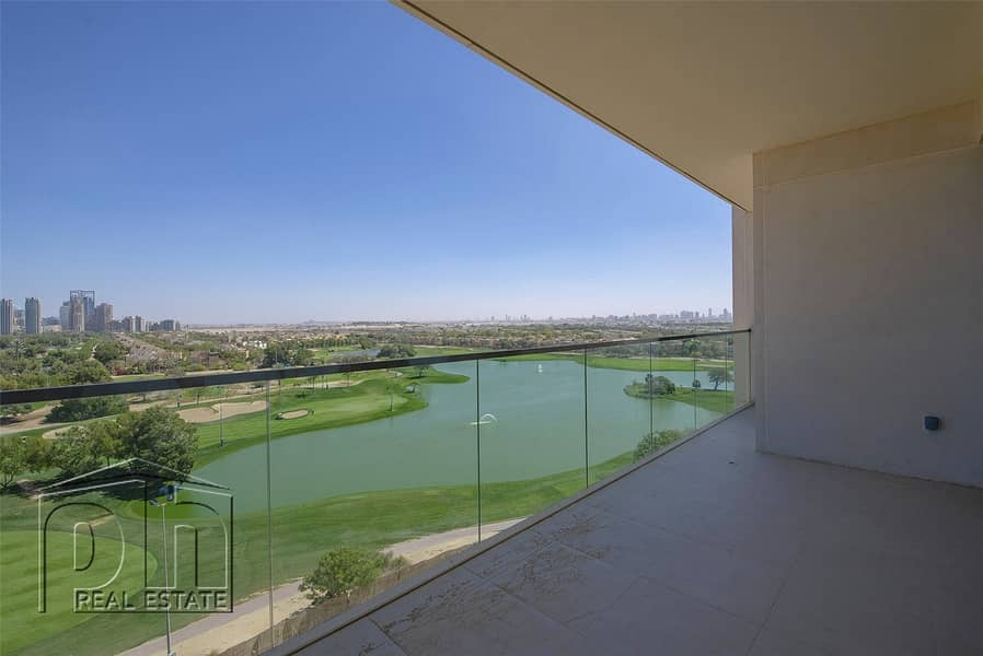 3 Bedroom plus maid with Full Golf Views