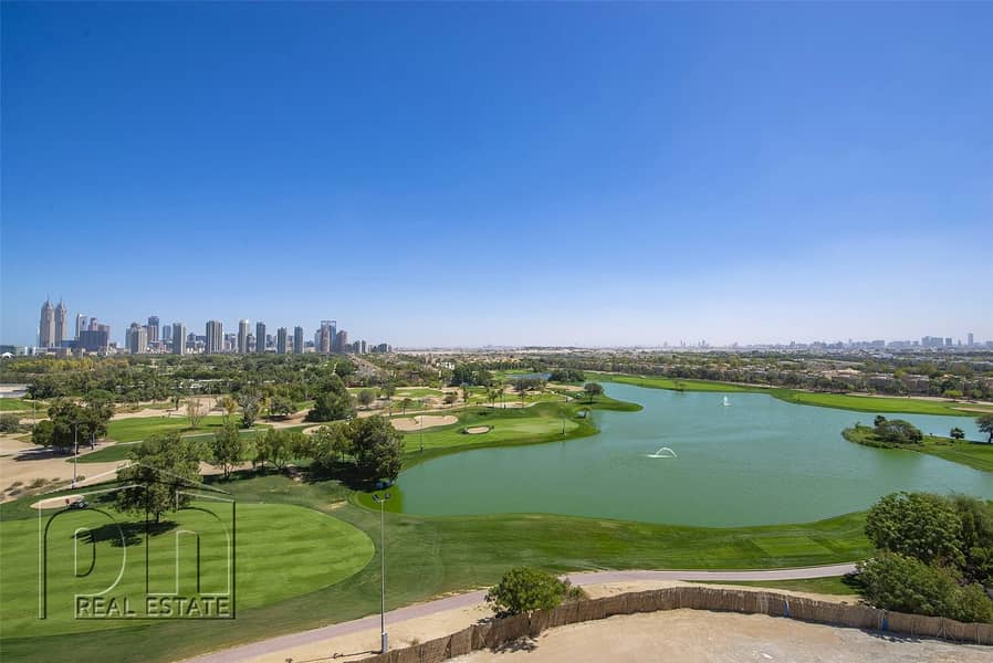 2 3 Bedroom plus maid with Full Golf Views