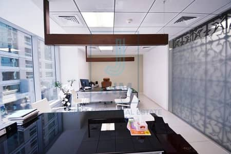 Office for Rent in Jumeirah Lake Towers (JLT), Dubai - Fully Fitted with Furnished Office Space At Saba 1
