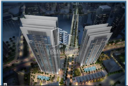 2 Bedroom Flat for Sale in The Lagoons, Dubai - Pay 10% now | 2BR 3yrs Post Handover | Creek Gate