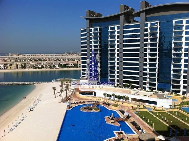 10 Palm Jumeirah Oceana 1br+M with Garden View