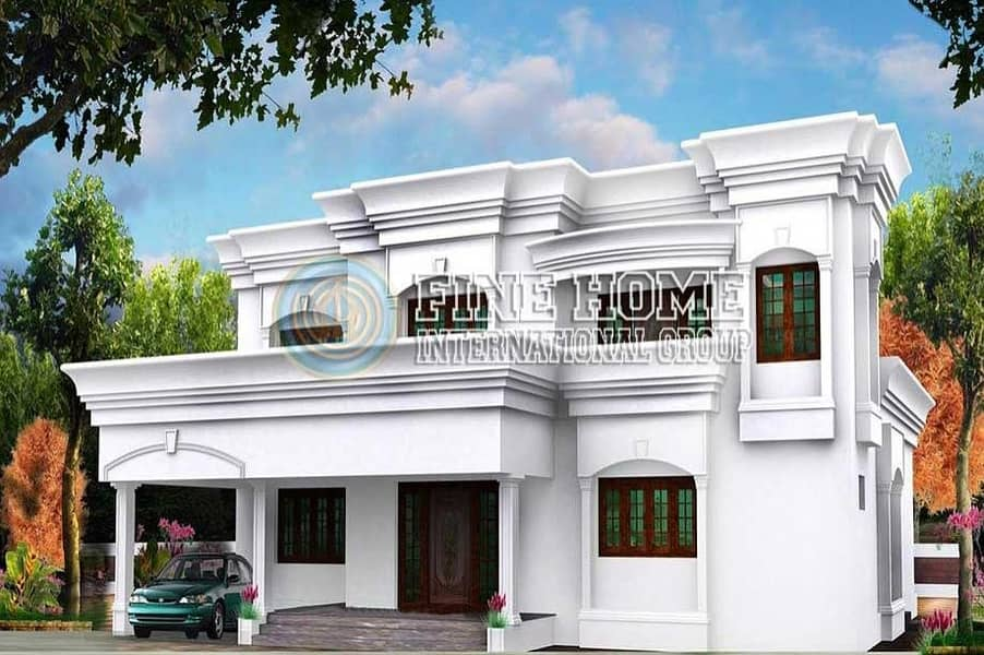 10 MBR. Villa In Khalife City. Abu Dhbai