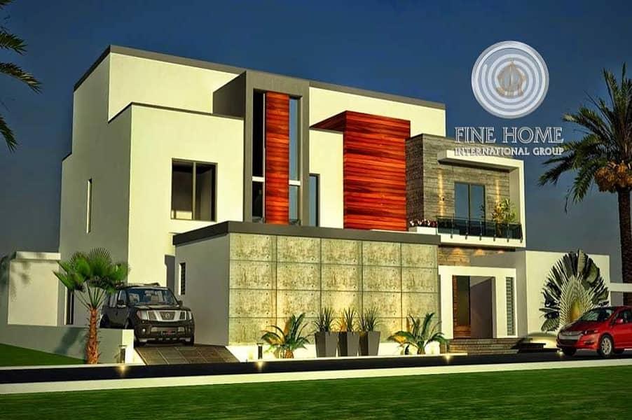 9 MBR. Villa in khalifa city