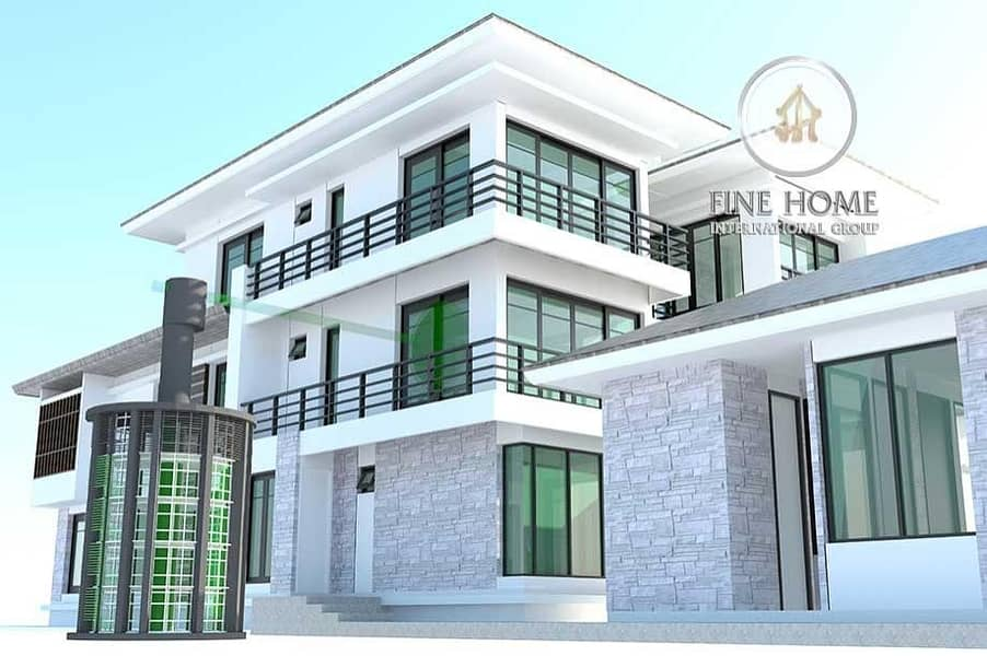 Nice 5 BR.Villa in Mohamed Bin Zayed City
