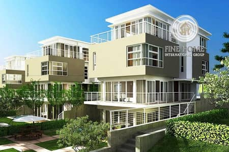 Nice 3 villas compound in Shakhbout city