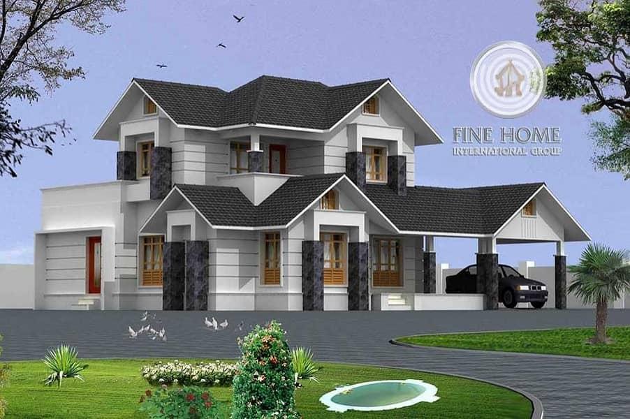 Amazing Villa in Khalifa City