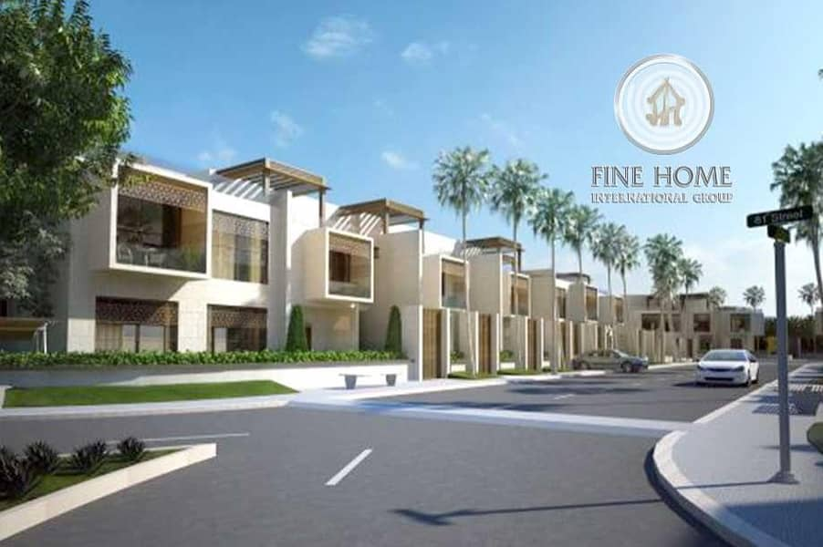 6 Villas compound in Madinat Khalifa