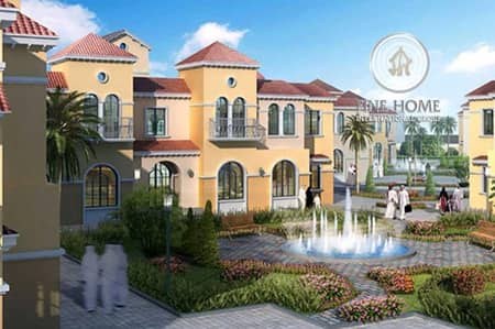 7 Bedroom Villa for Sale in Khalifa City A, Abu Dhabi - Smart 4 Villas Compound  in Khalifa City