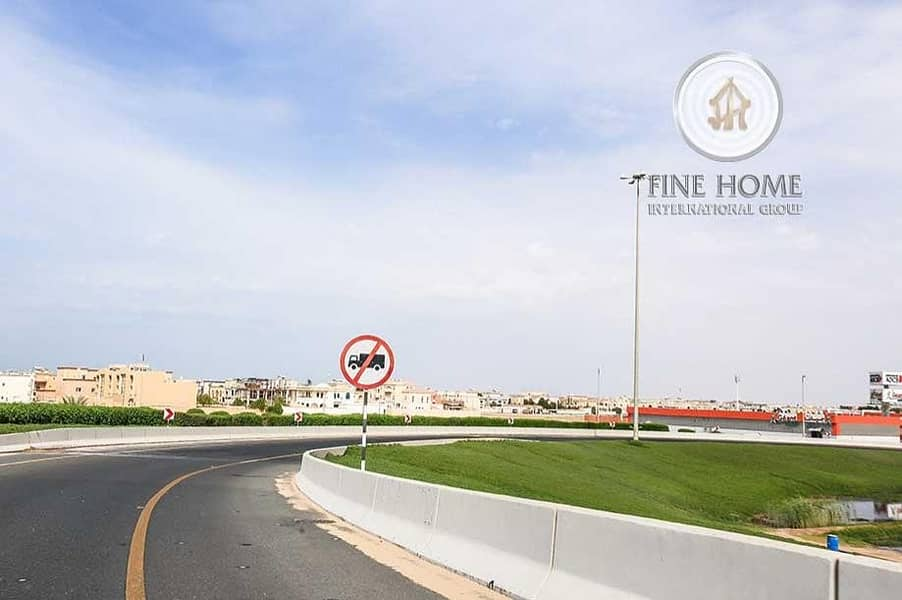 2 A Corner Residential Land in Madinat Zayed