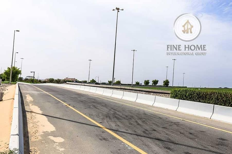 10 A Corner Residential Land in Madinat Zayed