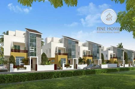 Modern 4 villas compound in khalifa city