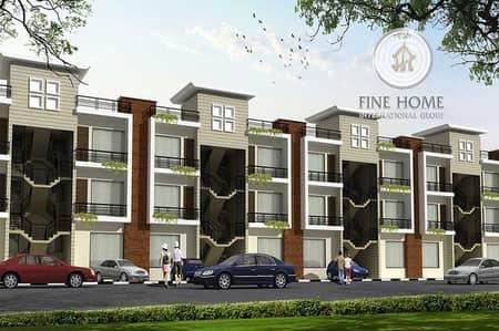 Nice 4 Villas Compound in khalifa City.