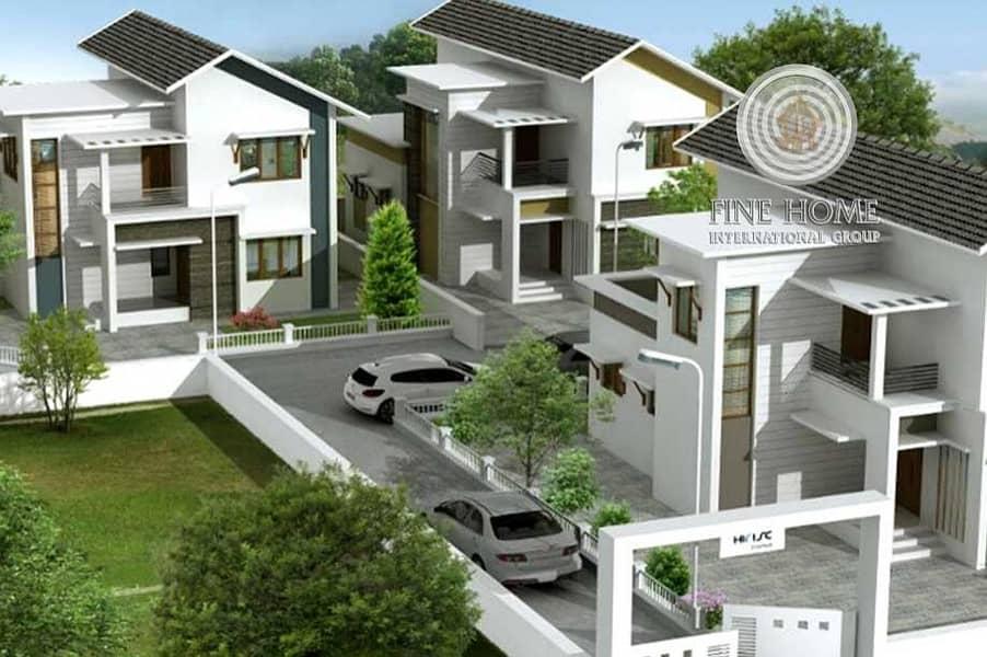 Modern 3 Villas Compound in khalifa City
