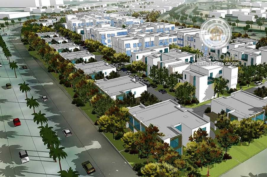 10 Villas Compound in Mohammed Bin Zayed