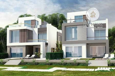 6 Bedroom Villa for Sale in Al Mushrif, Abu Dhabi - Classy! 2 Villas Compound in Al Mushrif.