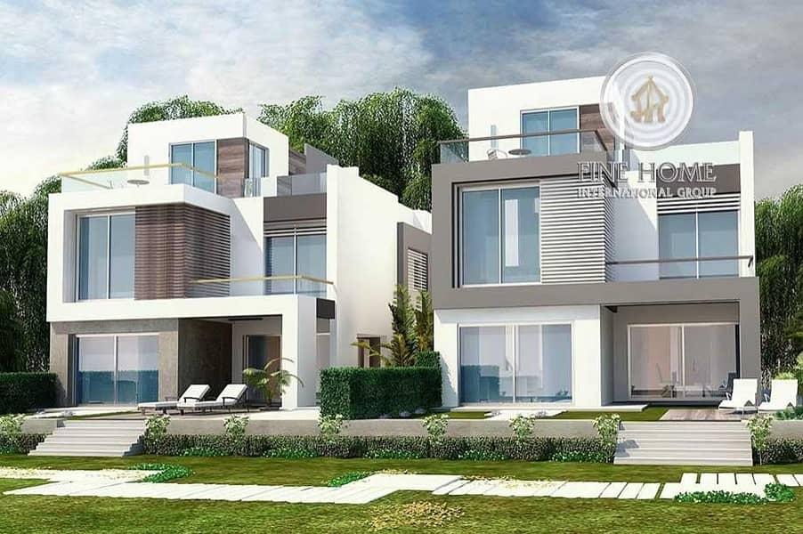 Classy! 2 Villas Compound in Al Mushrif.