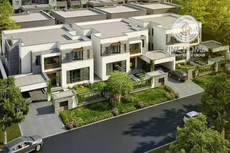 Great 6 Villas Compound in Khalifa City.