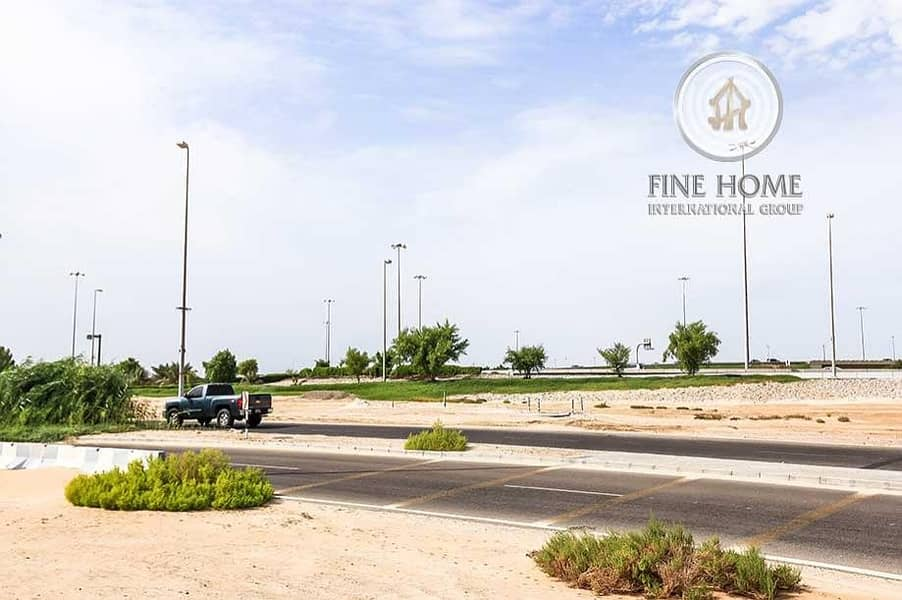 10 A Corner Residential Land in Zayed city.