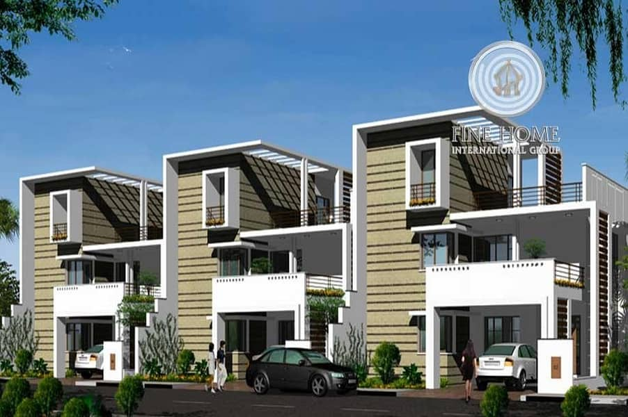 1 Amazing 3Villas Compound in Khalifa City