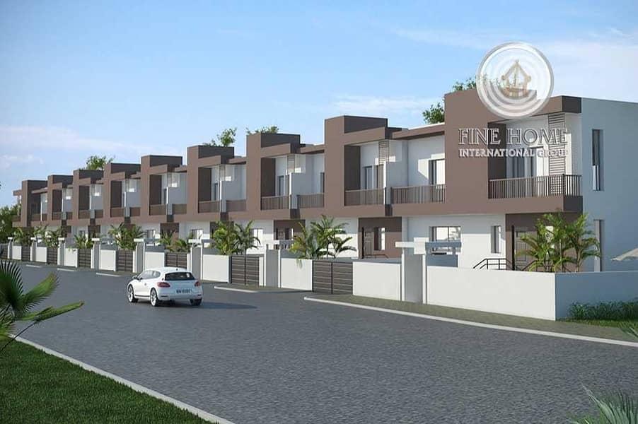 Modern 6 Villas Compound in khalifa City