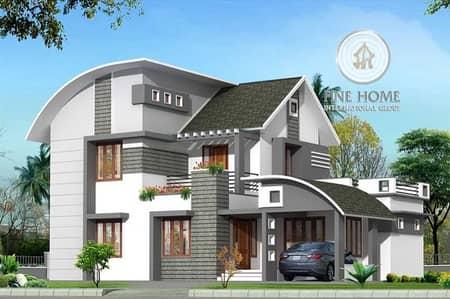 Nice Villa 5 Master BR in Khalifa City
