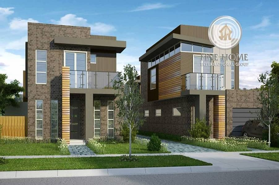 superb 2 Villas Compound in Khalifa City