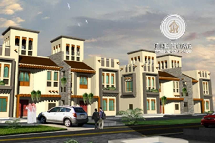 Great 4 Villas Compound in Khalifa City.