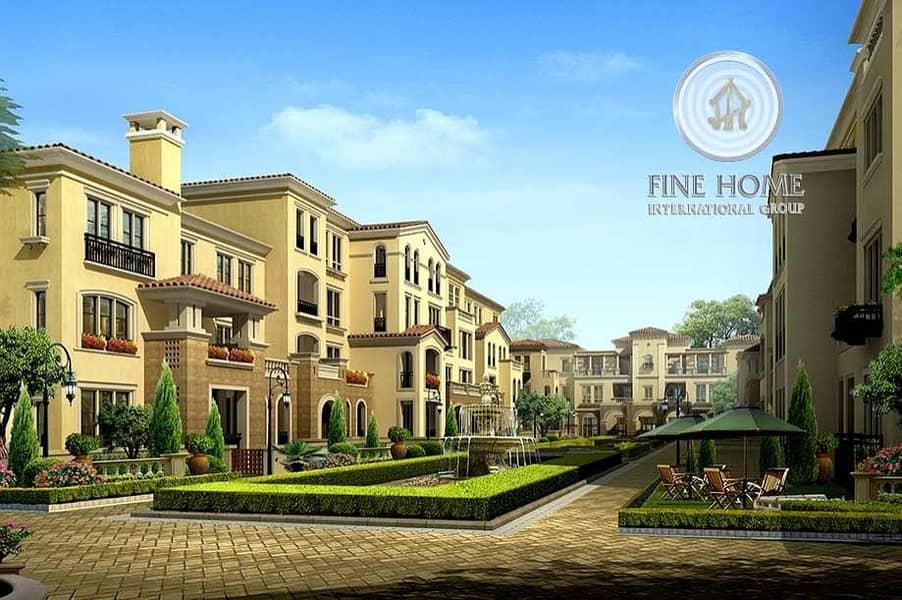 Great 6 Villas Compound in Khalifa City