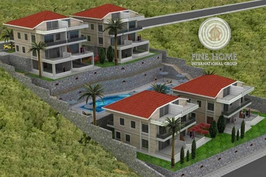 Style 4 Villas compound in Abu Dhabi Gate