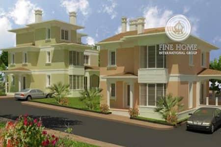 10 Bedroom Villa for Sale in Khalifa City A, Abu Dhabi - Suberb 2 Villas compound in Khalifa city