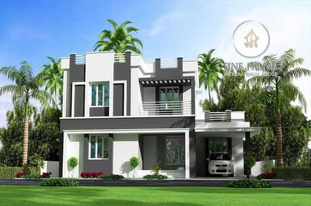 Popular House in Al Mushrif _ Abu Dhabi.