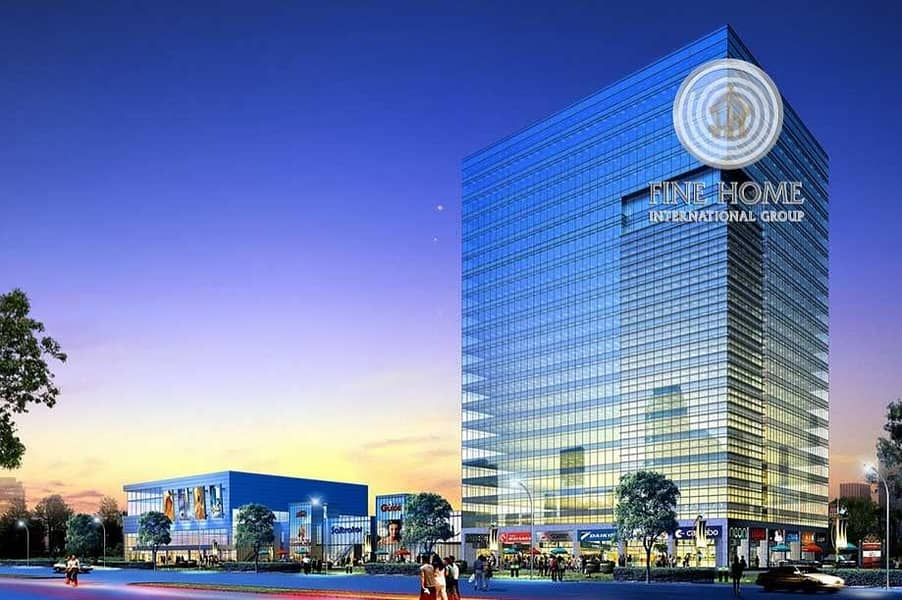 High income tower in Airport Road. Abu Dhabi