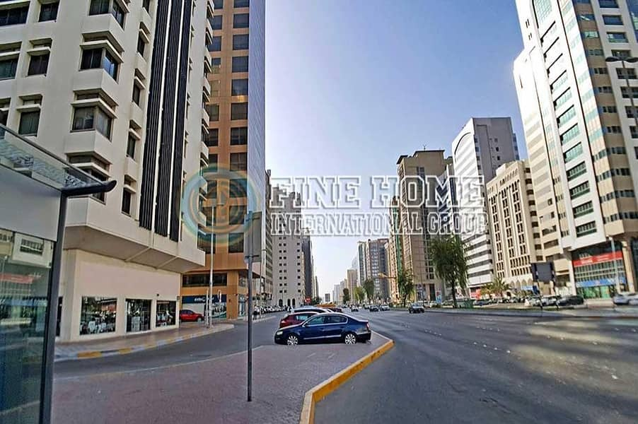 2 High income tower in Airport Road. Abu Dhabi