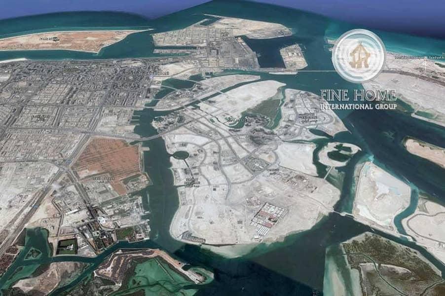 Great Residential land in Al Reem Island