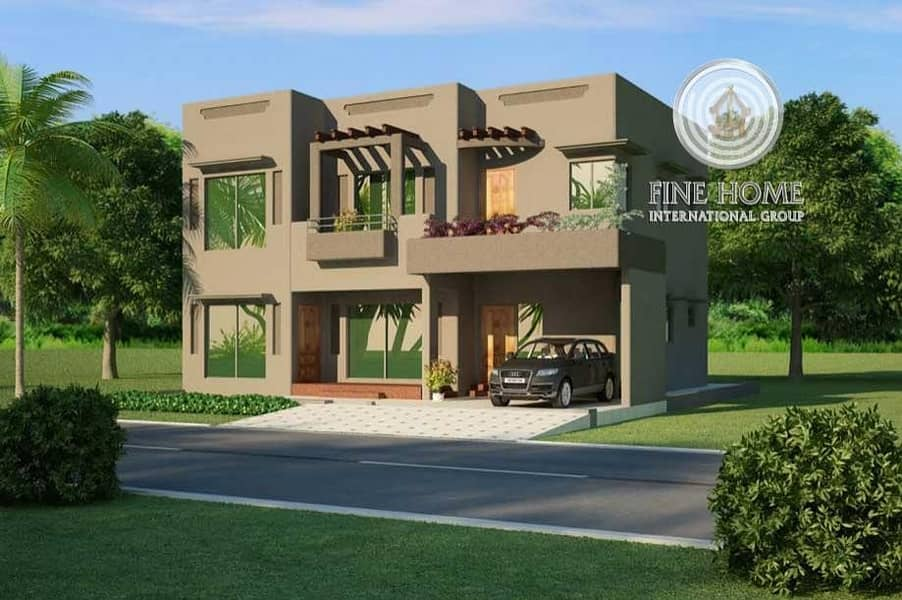 Great 2 Villas Compound in Airport Road.