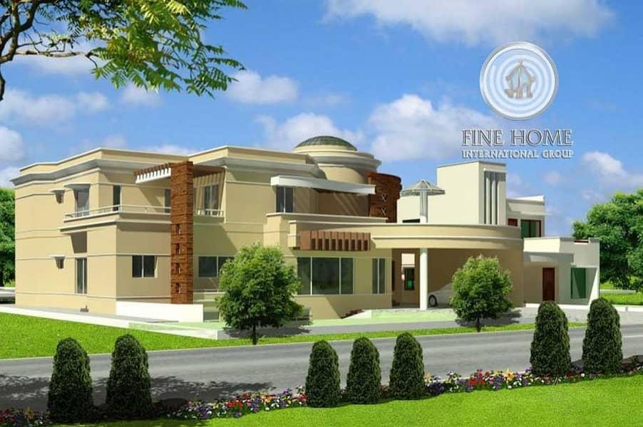 Brand New Villa in Shakhbout _Abu Dhabi.