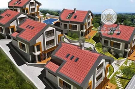 5 Bedroom Villa for Sale in Khalifa City A, Abu Dhabi - Superb 6 Villas Compound in Khalifa City