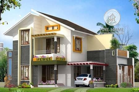5 Bedroom Villa for Sale in Khalifa City A, Abu Dhabi - Furnished 5MBR+Pool Villa in Khalifa City