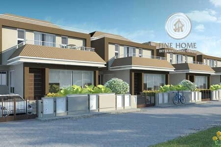 Great 3 Villas Compound in Khalifa City.
