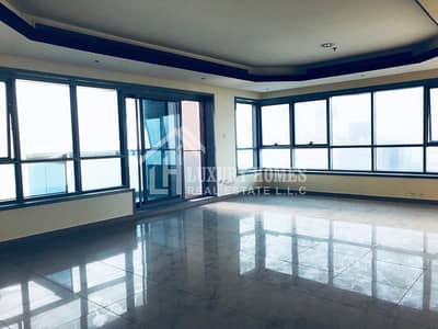 2 Bedroom Apartment for Sale in Al Rumaila, Ajman - Spacious Sea View Two Bedroom Flat for Sale in Corniche Tower, Ajman