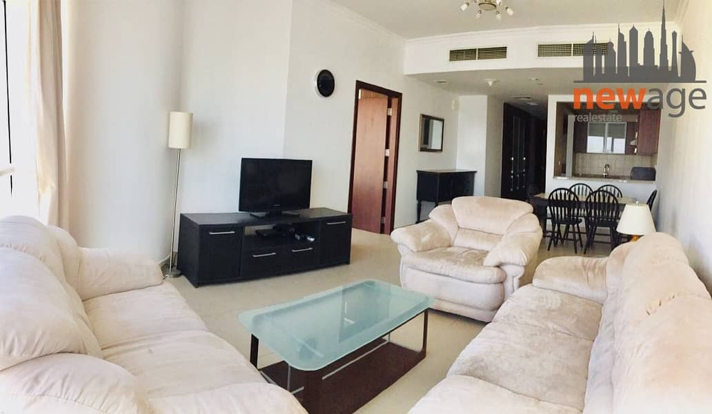 2 Fully Furnished 1Bedroom apartment for RENT in Goldcrest Executive JLT