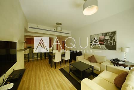 1 Bedroom Flat for Rent in The Greens, Dubai - Fully Upgraded n Furnished 1 Bed in Skai