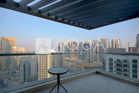 2 Bedroom Flat for Rent in Dubai Marina, Dubai - Amazing View on High Floor Large Balcony