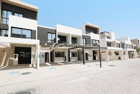 5 Bedroom Townhouse for Sale in Al Salam Street, Abu Dhabi - Brand New 5BR Townhouse with Maid's Room